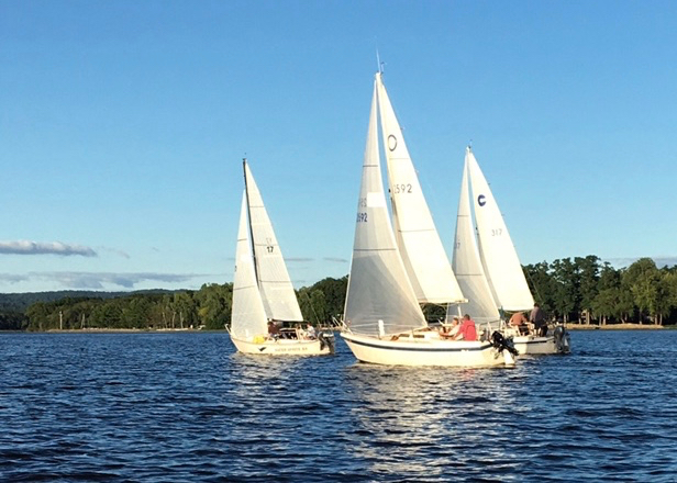 Keelboats Racing